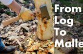 Cómo convertir un tronco en un mazo de