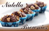 Brownies de Nutella | Tres ingredientes