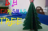 BRICOLAJE cómo hacer árbol de Navidad de papel