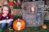 Piedra sepulcral de bricolaje Halloween