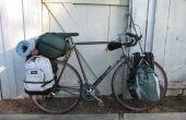 Parrilla, alforjas, aventuras en bicicleta: 4 paquetes, remolques y diversión.