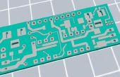 Hacer un tablero de circuito impreso 3D que trabaja