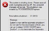 Programa tu PC para apagar automáticamente por asignándolos que vez que queramos