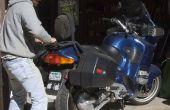 Placa giratoria del Faux de la motocicleta