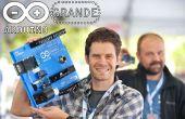 GRANDE de Arduino microcontrolador enorme