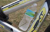 ¿Percha soporte de bicicleta de botella de agua