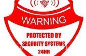 ¿Fabricación de sistema de alarma de advertencia para sala de