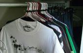 Cómo prolongar la vida de la ropa y rastrear su uso en un pequeño armario