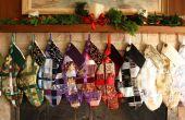 Tejido media cinta de la Navidad