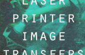 Impresora laser imagen transferencias
