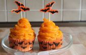 Zanahoria - torta de la taza de vampiro