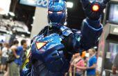 Stealth Iron Man con electrónica y Servos