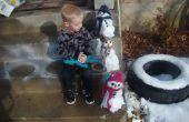 Crear un Kit de muñeco de nieve miniatura