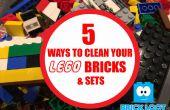 Cómo limpiar tus ladrillos LEGO y juegos!