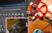 Identificar etiqueta para cables usb
