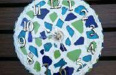Cómo hacer un reloj de mosaico de trabajo