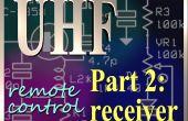 Receptor de Control remoto UHF