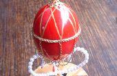 Mundo-en-un-huevo: Hacer una estilo Fabergé huevo gallina