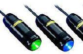 Indicadores de luz LED para EV, vehículo eléctrico de carga estaciones