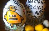 Garabatos de huevo
