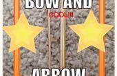 Cómo hacer un fácil arco y flecha
