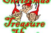 Caza del tesoro Navidad