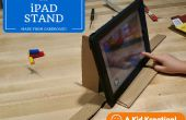 Cartulina iPad soporte para Stop Motion Videos