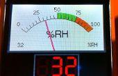 Sketch de Arduino para un gráfico retro medidor analógico en una moderna pantalla TFT