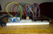 Distanciómetro ultrasónico con Arduino