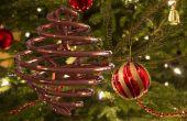 3D impreso doble hélice Navidad