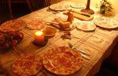 Cómo hacer una buena cena italiana