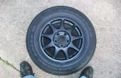 Limpiar y pintar la rueda