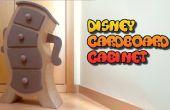 BRICOLAJE muebles de cartón, gabinete de Disney