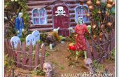 Haunted Halloween de Zombie casa DIY