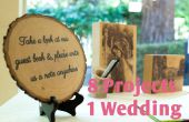Decorar tu boda con madera 8 en 1 Instructable