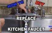 Cómo reemplazar un grifo de fregadero de cocina