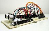 Medidor de distancia ultrasónico con pantalla LCD en el Arduino UNO