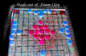 DIY: Hacer una Hnefatafl, tablero de ajedrez de los vikingos juego, como una viaje versión de la placa de arcilla de la espuma