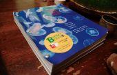 Encuadernación de un libro de texto hojas sueltas