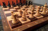 Cómo hacer un tablero de ajedrez de grano de extremo