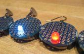 Cómo hacer aretes de circuitos de LED