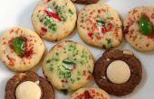 Viejo Fashioned hielo caja de galletas (tres variaciones)