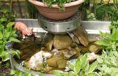 De servicio para estanque de jardín