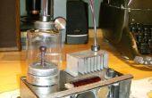 Mad científico generador de agujero de gusano