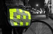 Grandes divisas bolsa: insignias coser en Hola-vis para ciclismo/running