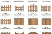 Añadir estilo a su jardín con valla de madera fabuloso
