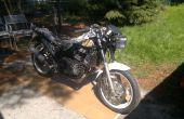 Bicicleta de carrera EX500 1993 - reconstrucción completa