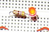 El LED parpadea con frambuesa Pi