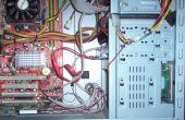 Organizar los cables dentro de tu computadora y cables