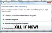 Cómo salir hacia fuera y cerrar un programa que no responde en Windows 7, 8 o 10!